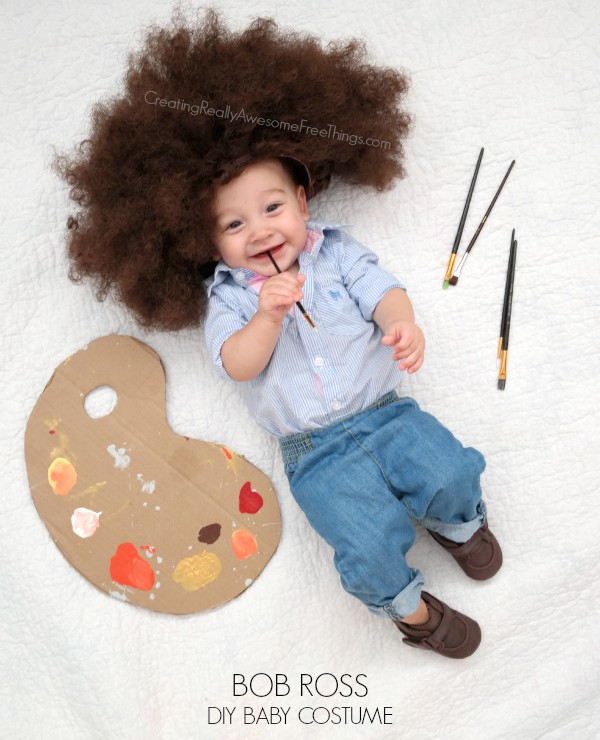 diy bob ross costume funny sc 1 st country living magazine
