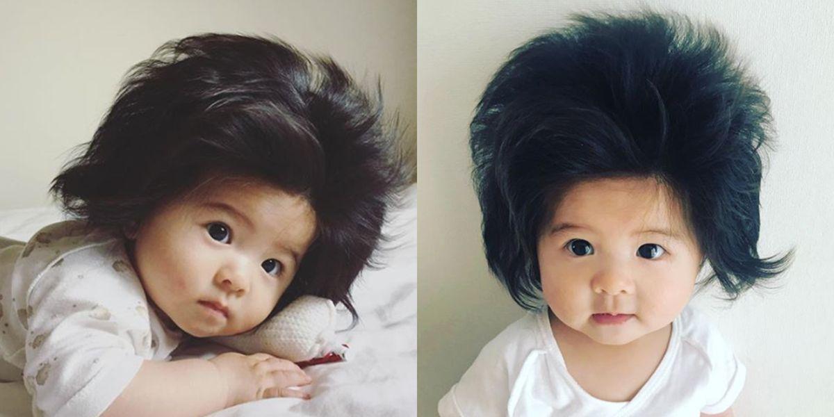 Baby Chancos Hår har allerede gjort hende en Instagram Celebrity-3639