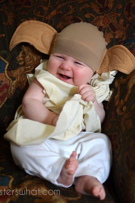 25 cute baby halloween costumes for boys girls diy costume diy dobby the elf costume solutioingenieria Choice Image