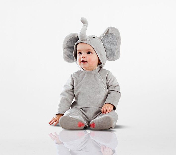 image. Pottery Barn Kids. Baby Elephant Costume  sc 1 st  Womanu0027s Day & 25 Cute Baby Halloween Costumes 2018 - Best Ideas for Boy and Girl ...