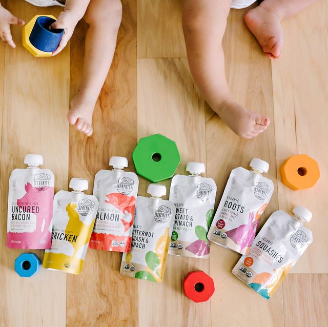 serenity kids baby food pouches