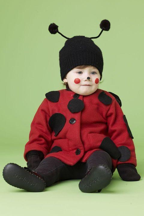 baby halloween costume ideas ladybug