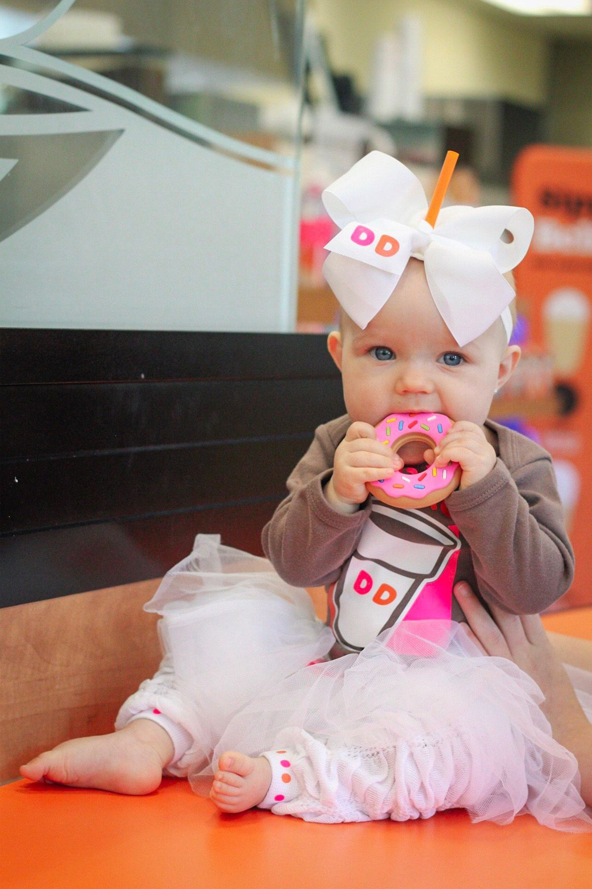 baby halloween costume dunkin donuts