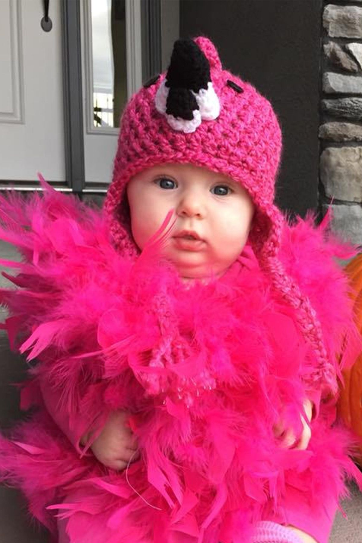 image. diaryofasocalmama on Etsy. Baby Flamingo Costume  sc 1 st  Womanu0027s Day & 25 Cute Baby Halloween Costumes 2018 - Best Ideas for Boy and Girl ...