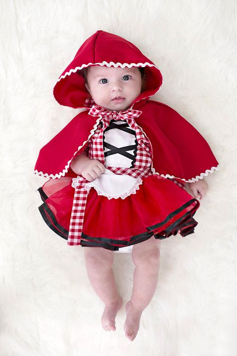 baby halloween costumes little red riding hood