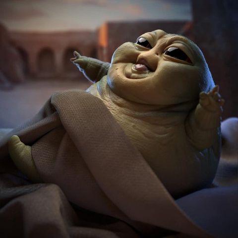 Baby Jabba Baby Yoda viral Twitter