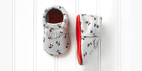 Disney Mickey Mouse baby mocassins