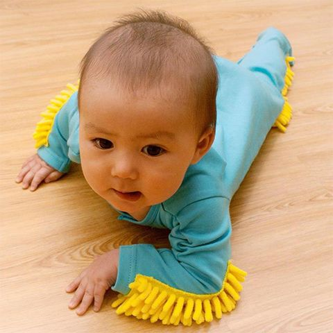 Child, Baby, Toddler, Yellow, Tummy time, Skin, Turquoise, Crawling, Play, Baby & toddler clothing,