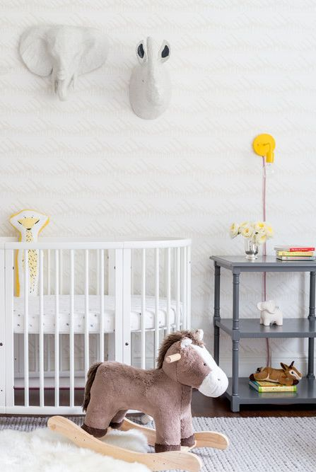 20 Cute Nursery Decorating Ideas - Baby Room Designs For Chic Parents