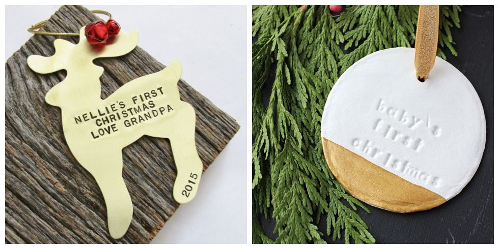 13 Baby's First Christmas Ornaments to Treasure Forever