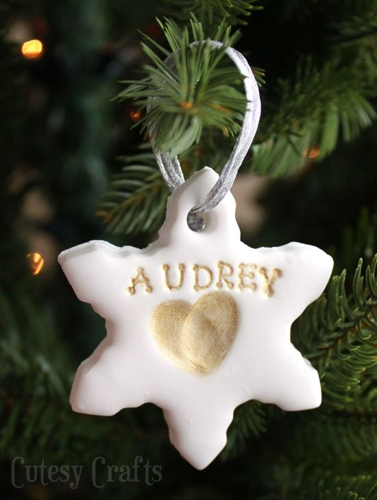 13 Best Baby's First Christmas Ornaments - Cute Personalized Christmas Ornaments for Baby Girls and Boys