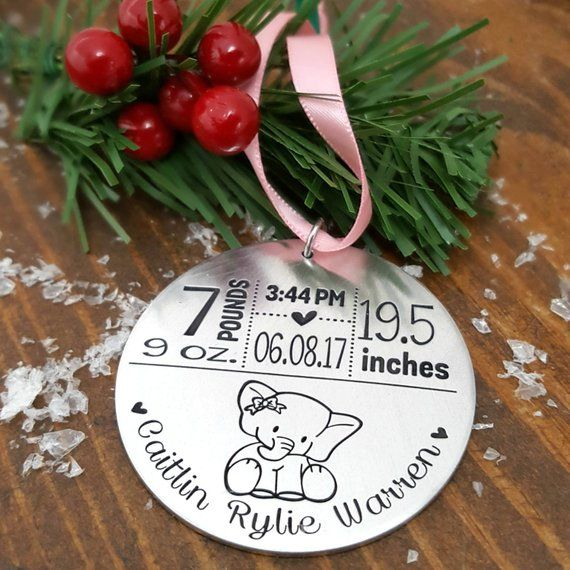 13 Best Babys First Christmas Ornaments Cute Personalized