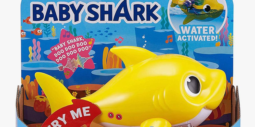There's a 'Baby Shark' Bath Toy That Sings and Swims Through the Water