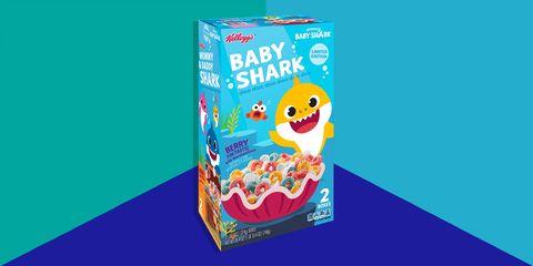 Kellogg's baby shark cereal best 2019