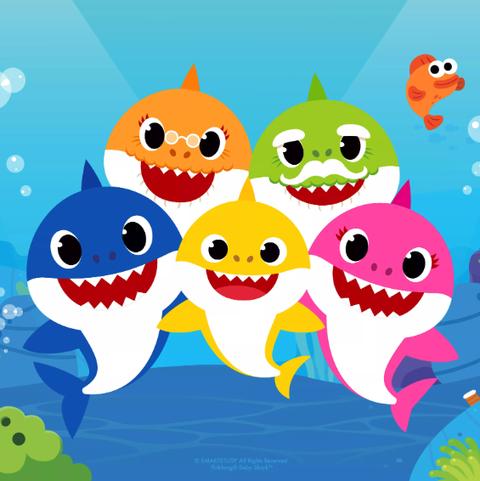 baby shark costume - pop culture halloween costumes