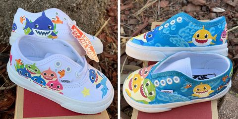 These Adorable Baby Shark Shoes Will Have Your Little