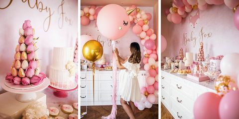 The Tia Fox Baby Shower Decor Best 2018