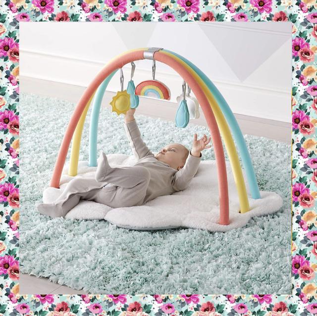 baby shower gifts rainbow activity set
