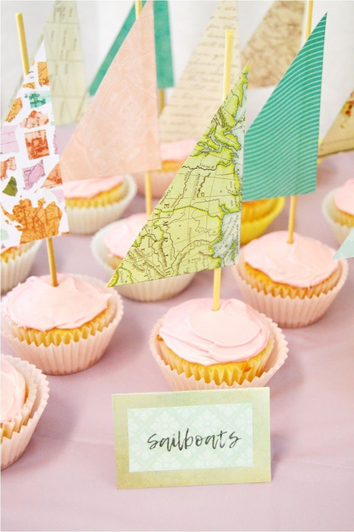 baby shower ideas cupcakes