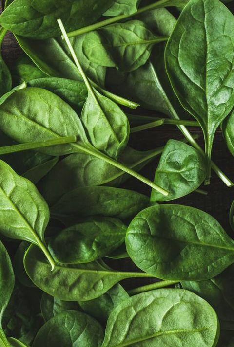 Babyspinach leaf as a background