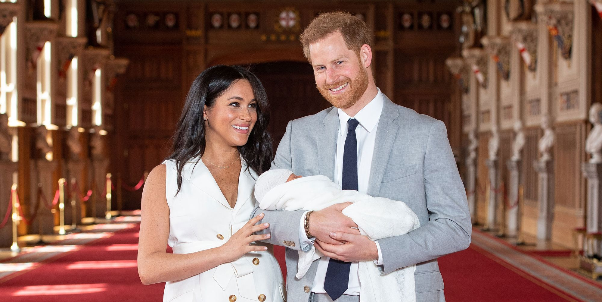 First pictures of Baby Sussex
