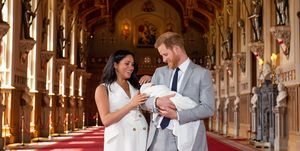 Harry and Meghan royal baby - first pictures of Baby Sussex