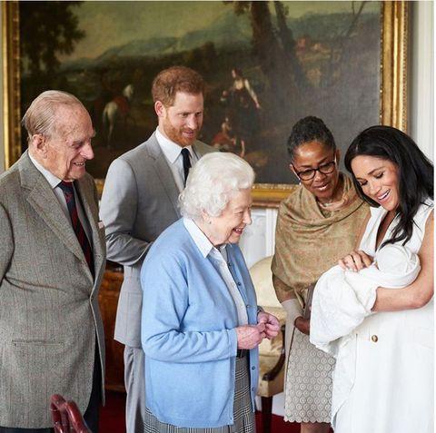 Meghan Markle, Príncipe Harry, Baby Sussex