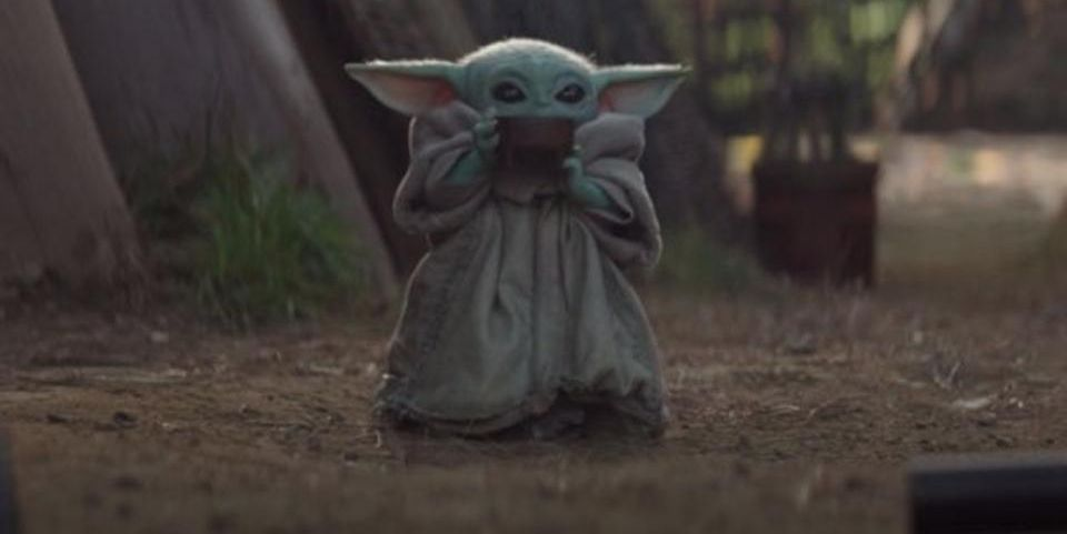 The Baby Yoda Sipping Soup Meme Perfectly Describes Your Mum At Christmas