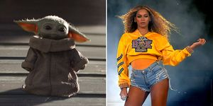 Baby Yoda Beyonce