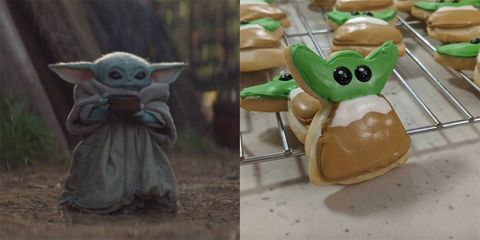 Baby Yoda Biscuits Can Be Yours With This Baking Hack