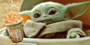 Baby Yoda Frappuccino