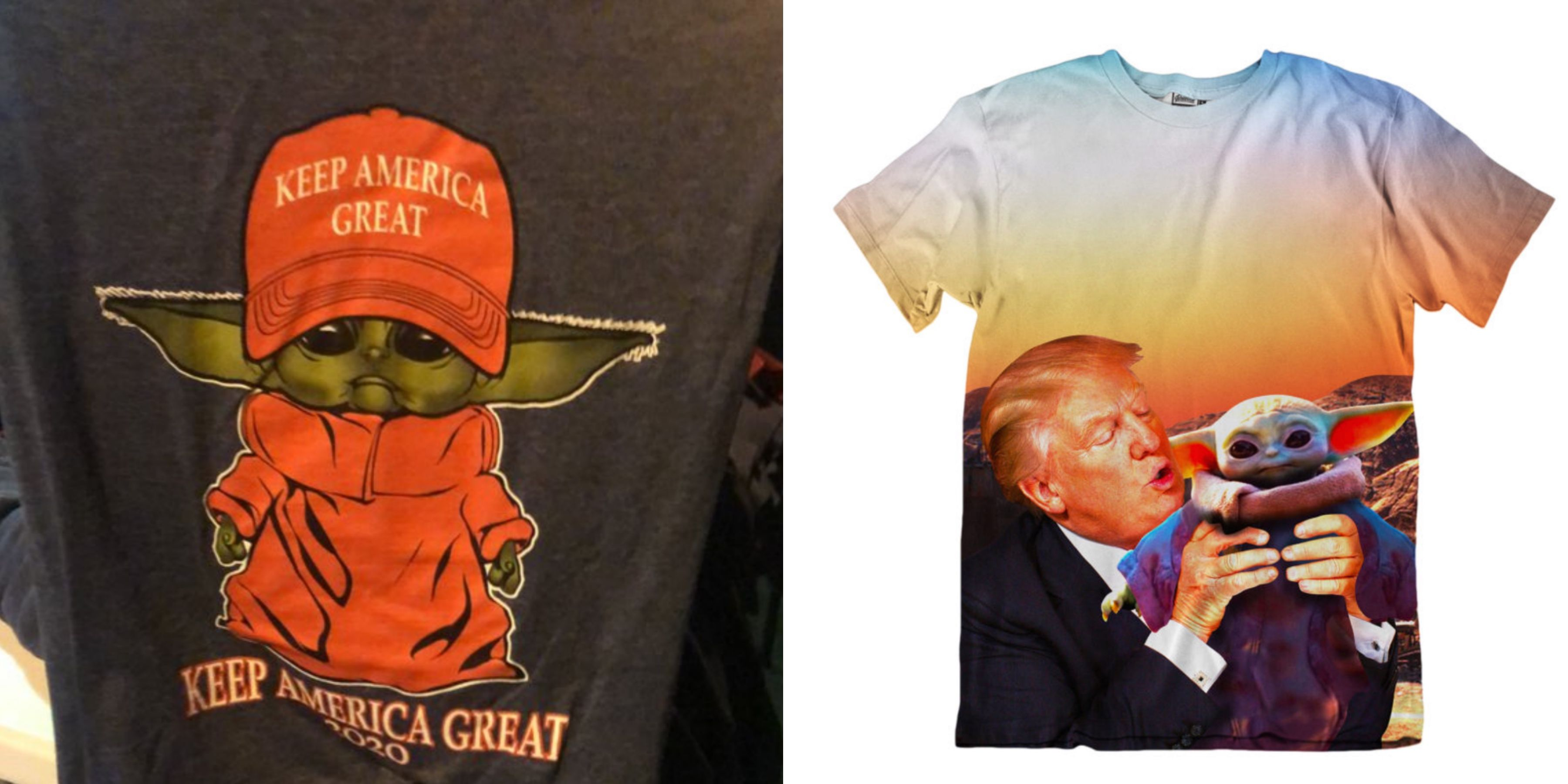 The MAGA Idiots Are Trying to Take Baby Yoda. Sure, Go For It.