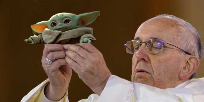 60 Funniest Baby Yoda Memes From Disney S The Mandalorian