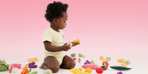 Jheri curl, Sweetness, Play, Afro, Baby toys, Baby playing with toys, Foot, Produce, Baby Products, S-curl,