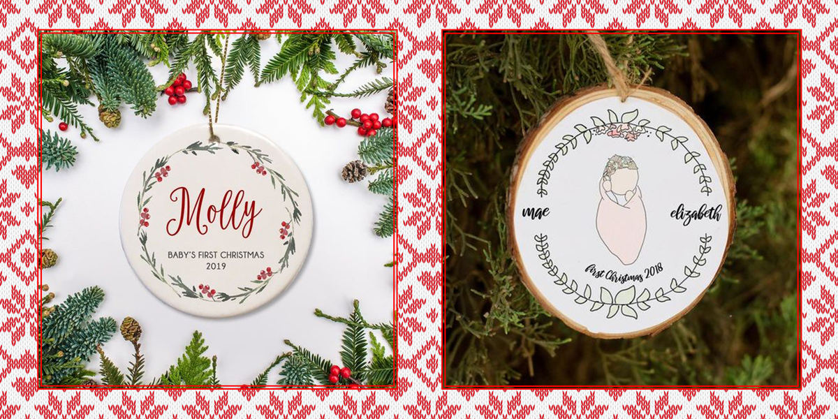 First Christmas.Celebrate Baby S First Christmas With These Adorable Ornaments