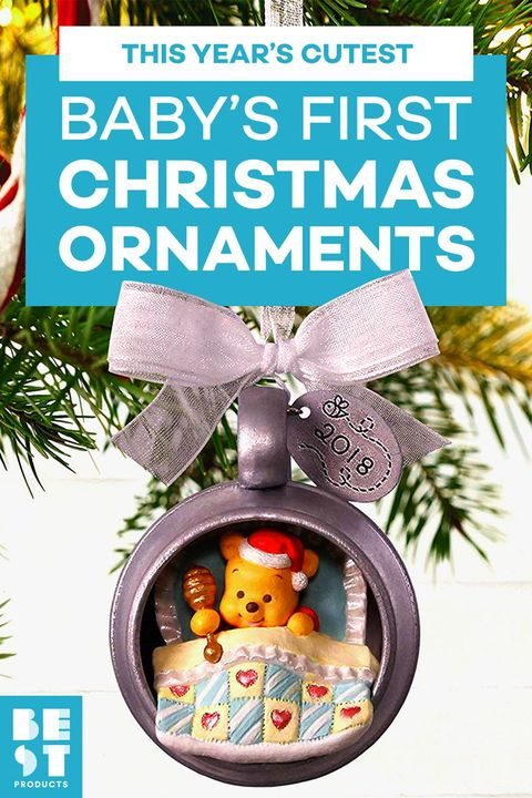 13 Best Baby S First Christmas Ornament Ideas For 2019