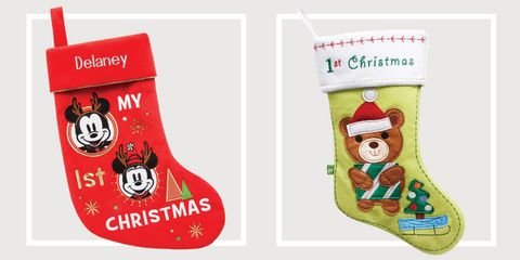 babys first christmas stocking - Girl Christmas Stocking