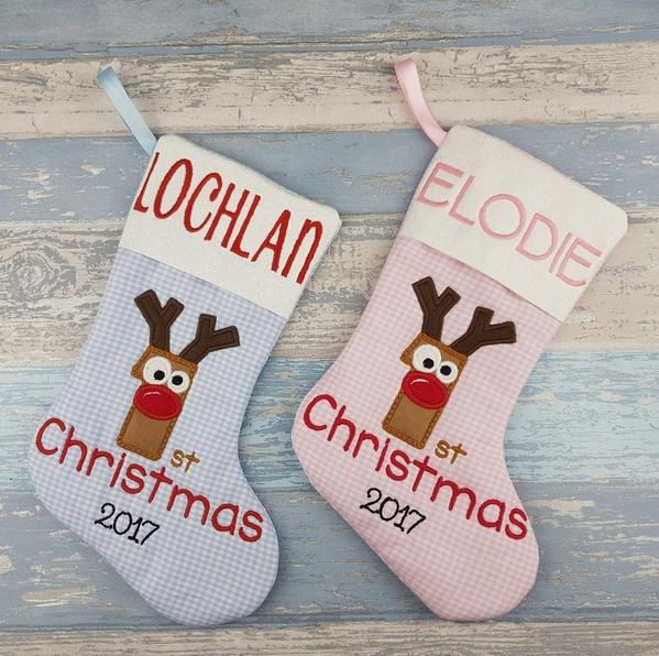 Christmas Gifts For Parents From Infants.20 Best Baby S First Christmas Stockings Cute Ideas For