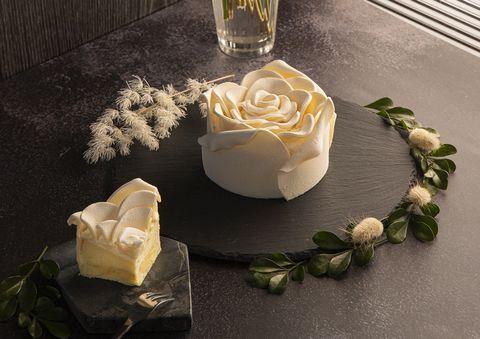 BAC白玫瑰蛋糕