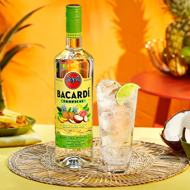 bacardí rum tropical