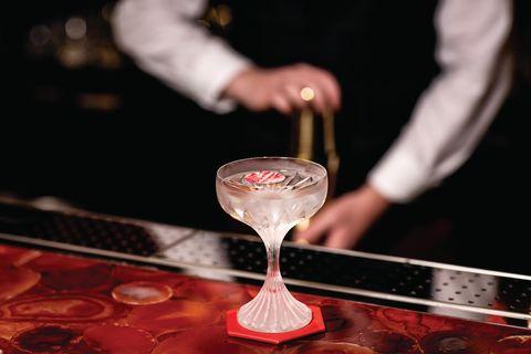 baccarat bar, harrods
