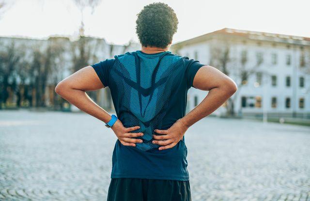 back pain sport injury