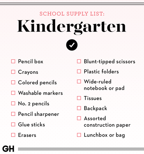7th grade school supplies list 2020