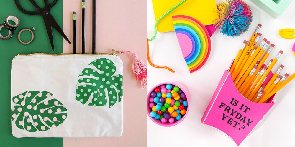 5 Diy Home Decor Craft Ideas For The Summer: 19 Fun Back-to-School DIY Projects