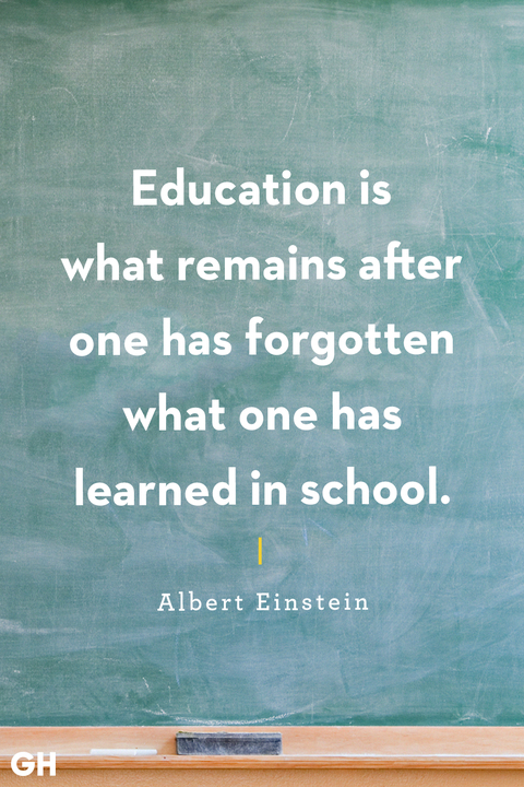 Back To School Quotes Albert Einstein