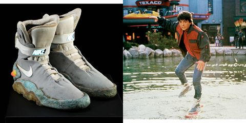 low priced a6509 21ed2 An OG Nike Mag Used in Back to the Future Just Sold for Almo