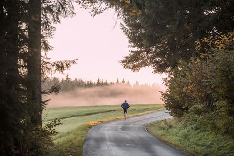 why it's ok to run on your own