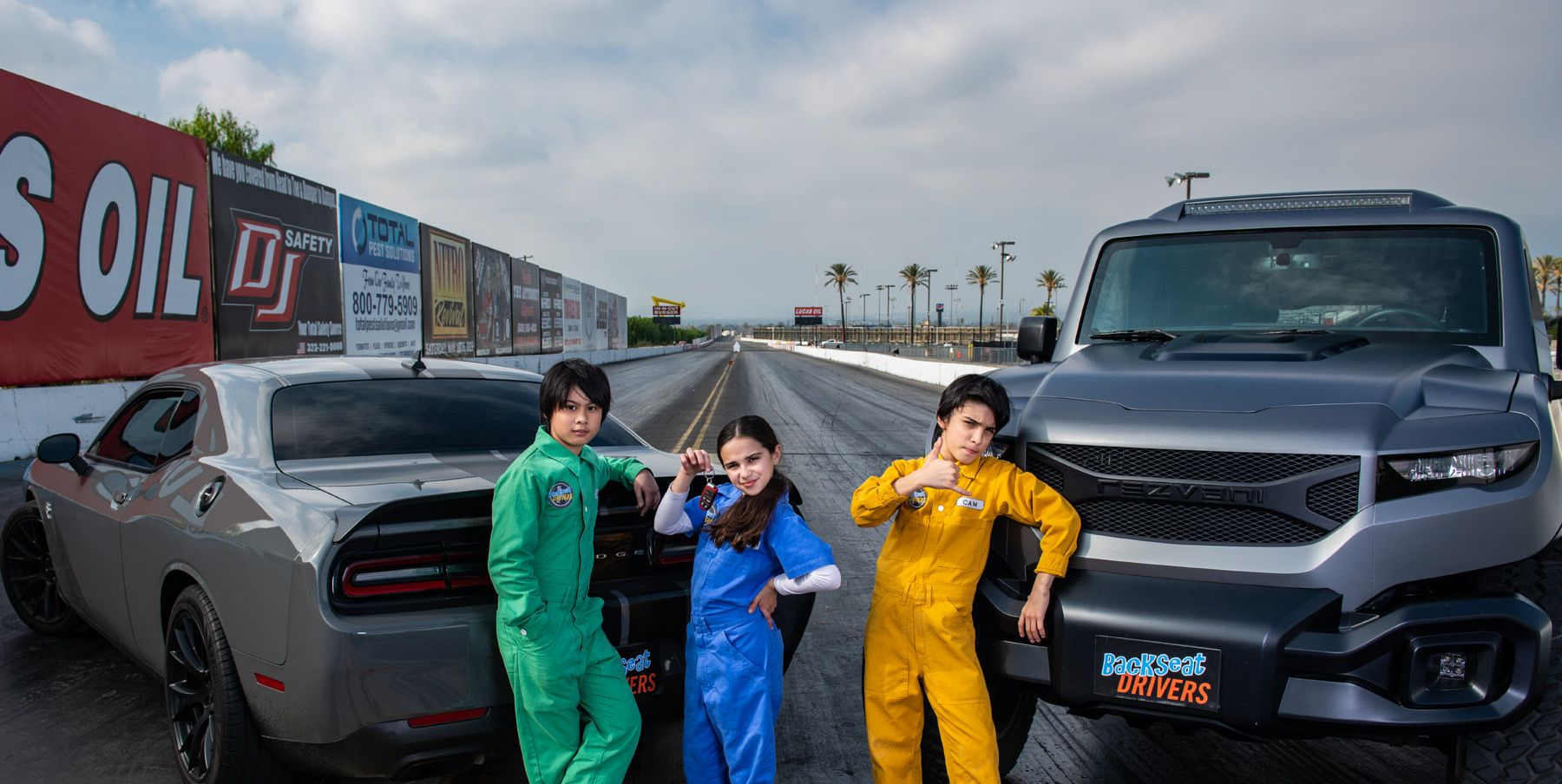 Backseat Drivers, a New Car Show Starring Kid Drivers