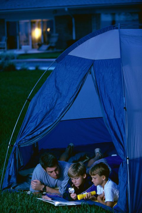 25 Family-Friendly Backyard Camping Ideas - Backyard ...
