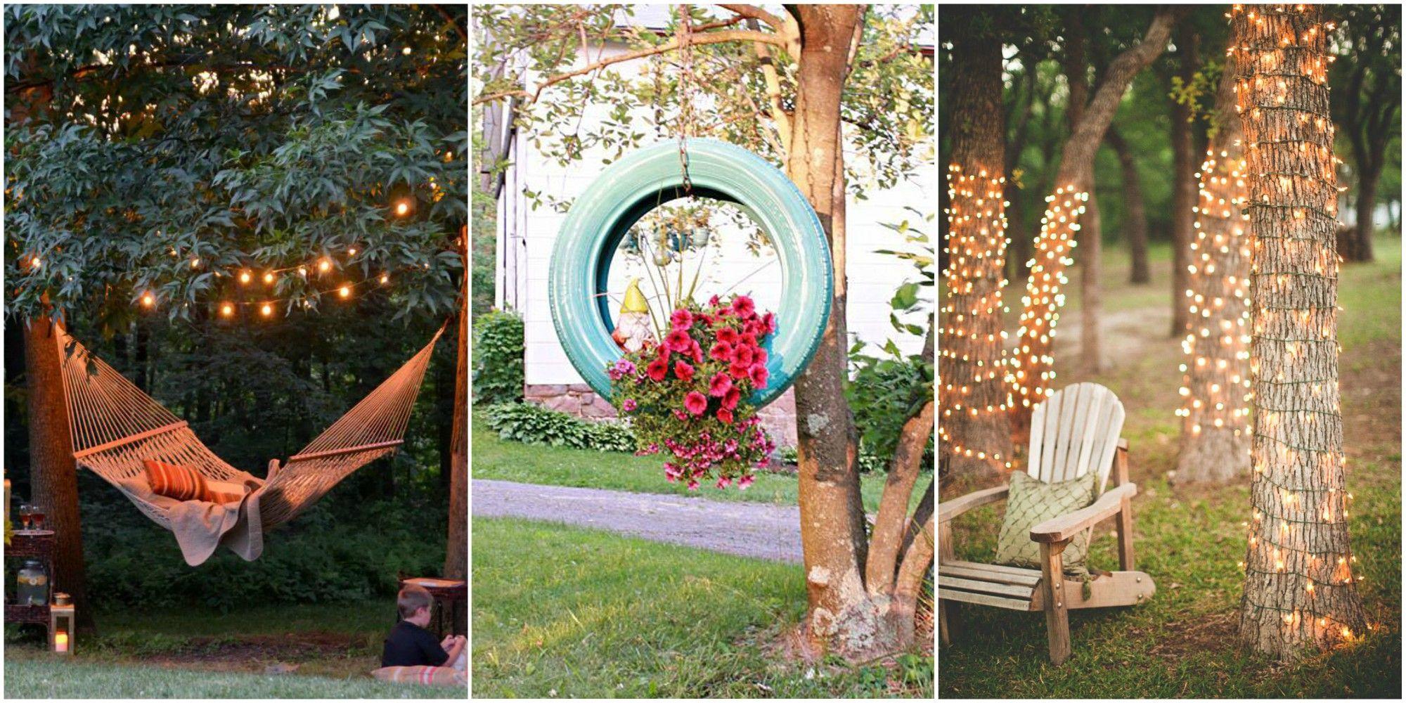 backyard decorating ideas & 67 DIY Backyard Design Ideas - DIY Backyard Decor Tips
